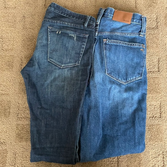 Madewell Jeans, Mom Jeans and Skinny Jeans